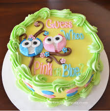 these gender reveal cakes are a delicious way to share your joyful