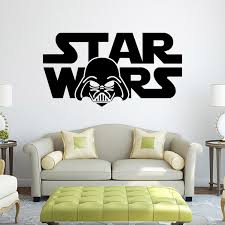 living room wall stickers star wars star wars cartoon characters living room bedroom living
