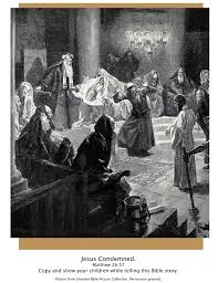 bible story pictures the trial of jesus the scripture lady