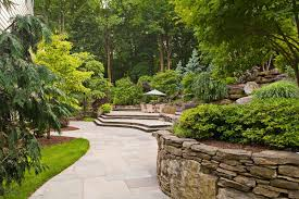 natural stone patios cording landscape design