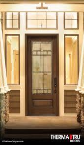 decorative glass cabinet doors therma tru smooth star fiberglass door with sedona decorative