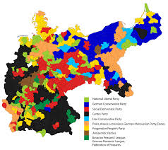 Map Of German States by German Federal Election 1912 Wikipedia