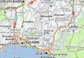 map of montreux map of ecublens michelin ecublens map viamichelin
