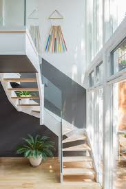 jessica helgerson interior design staircase glass facade kitchen