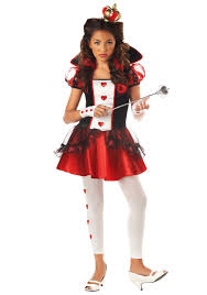 California Costumes Characters Tween Queen Hearts Costume