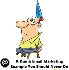 How To Make A Dunce Cap Out Of Paper - dumb email marketing jpg