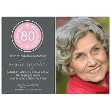 80th birthday invitations circular ornament 80th birthday invitations paperstyle