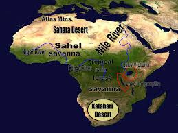 Sahel Desert Map Polk District
