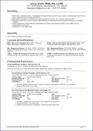 resume templates nursing surgical practitioner resume critical care resume