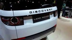 land rover discovery 2016 interior 2016 land rover discovery sport youtube