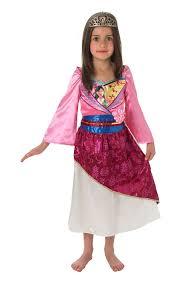amazon com disney mulan shimmer kids costume kids fancy dress