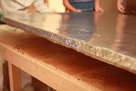 diy stainless steel table top how to build a giant table design mom