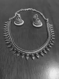necklace silver india images Silver indian jewelry saree blouses and jewelry pinterest jpg