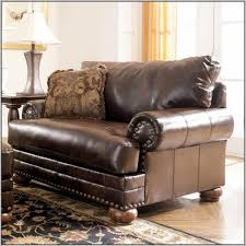 Leather Armchair With Ottoman Accessories Leather Chair And A Half With Ottoman In Great Chair