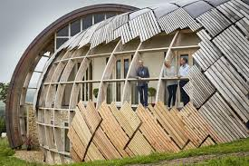 grand design home show london it s like a wooden spaceship grand designs kevin mccloud is lost