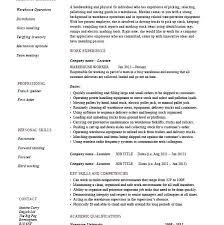 Warehouse Labourer Resume Resume Resumes Warehouse Supervisor Download Remarkable 4 Worker