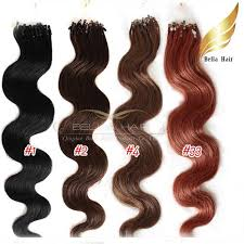 micro rings micro ring indian hair extensions 20 1 2 4 33 1g strand