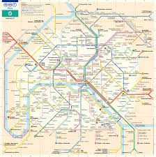 Budapest Metro Map by Paris Metro Card Paris Visite Rail Plus Australia