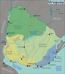 Forgotten Shore Map Uruguay U2013 Travel Guide At Wikivoyage