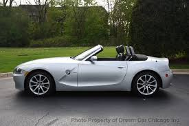 bmw z4 convertable 2007 used bmw z4 roadster 3 0i at car chicago inc serving