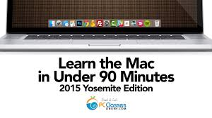 learn the mac in under 90 minutes 2015 yosemite edition youtube