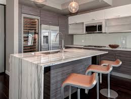kitchen designs small two tone paint tile wall countertop marble