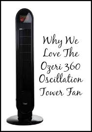ozeri 360 oscillation tower fan why we love the ozeri 360 oscillation tower fan
