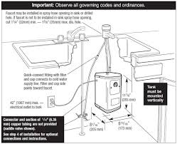 American Standard Kitchen Faucet Parts Diagram Waste King H711 U Sn Quick U0026 Water Dispenser Faucet U0026 Tank