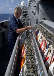 Us Navy Signal Flags File Us Navy 041117 N 5384b 039 Quartermaster Seaman Nicholas