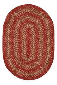 braided rug apple pie jute braided rug cottage home