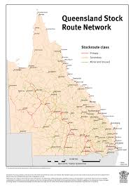 Map Of Queensland Councils Take Driver U0027s Seat On Stock Routes The Queensland