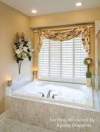 Modern Bathroom Windows Modern Bathroom Window Treatments White Shower Curtain Bathroom