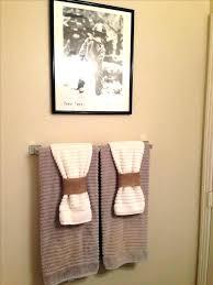 Bathroom Towel Design Ideas Hanging Towels In The Bathroom Ghanko