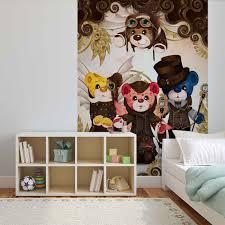 rainbow bears care bears wall paper mural buy at europosters rainbow bears care bears wallpaper mural