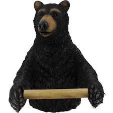 terrific black bear toilet paper holder 34 about remodel home
