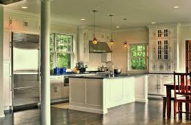 modern island bench lighting modern kitchen with stone island