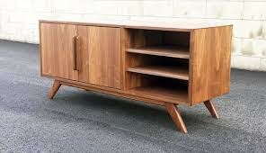 mid century modern tv cabinet the stella j is a mid century modern tv console credenza tv