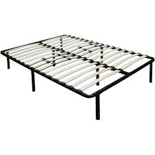 Steel Platform Bed Frame King Bed Frames Voguish Wooden With Retail Size Low Profile