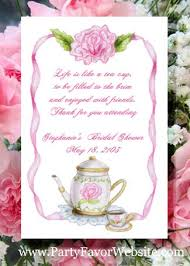 bridal shower flower seed favor packets personalized free