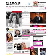 magazine layout inspiration gallery french glamour magazine online layout love the colors very splashy