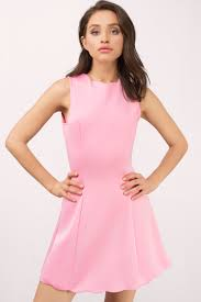 sleeveless dress pink dress sleeveless dress pink scuba dress day dress