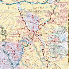 Forrest Fenn Map Utah Recreation Map U2014 Benchmark Maps