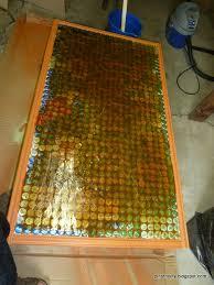 bottle cap table designs pinstrosity 800 bottle caps down the drain
