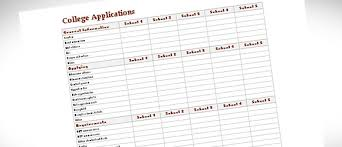 college comparison chart template expin radiodigital co