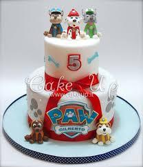 79 paw patrol cakes images birthday cakes paw
