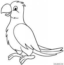 parrot coloring pages print eliolera