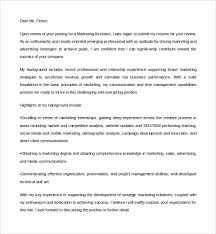 Sample Resume For Marketing Assistant by Marketing Assistant Cover Letter Cover Letter Names Online