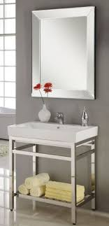 single sink console vanity 24 inch single sink console bathroom vanity with choice of metal