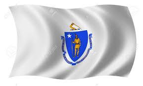 Massachusetts travelers stock images Flag of massachusetts stock photo picture and royalty free image jpg