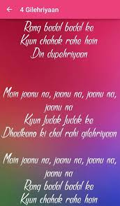 dangal songs lyrics android apps on play